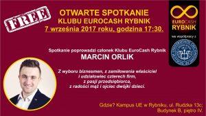 Otwarte Spotkanie Klubu EuroCash Rybnik z Marcinem Orlikiem