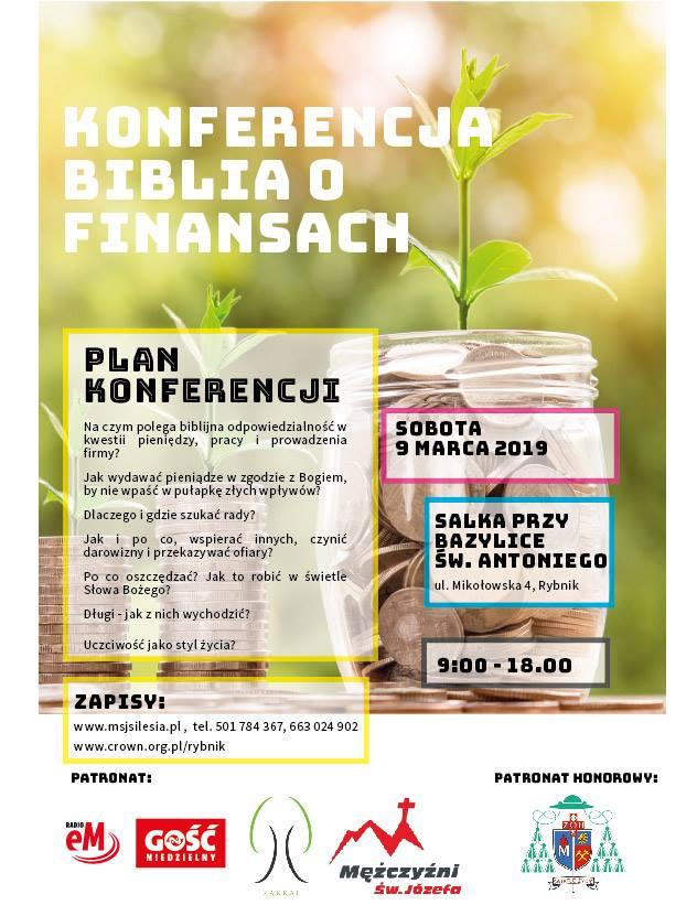 Konferencja Biblia o finansach – edycja Rybnik