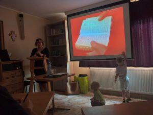Konferencja na rekolekcjach I. st. Oazy Rodzin w Koniakowie