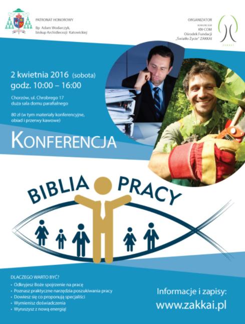 Parafia św. Jadwigi w Chorzowie – Biblia o pracy