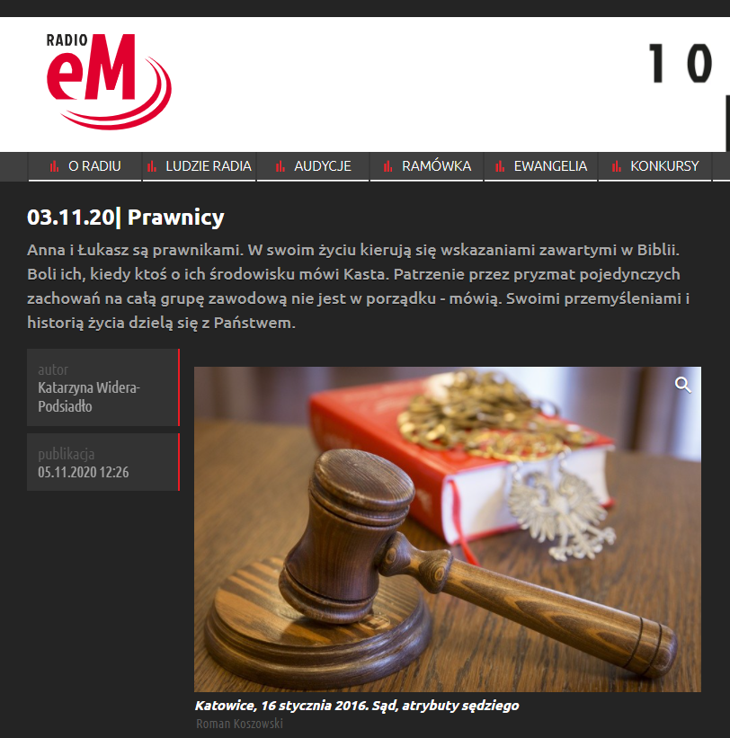 Radio eM – Prawnicy